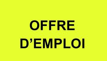 Offre d'emploi au sein de la Mairie